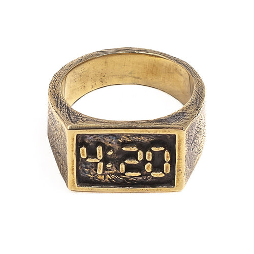 420 RING | BRASS