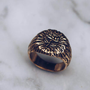 RAW ROSE RING | BRASS - JewelryLab