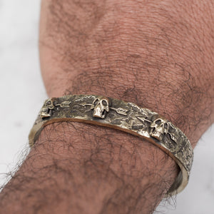 3 DEAD MEN BRACELET | BRASS - JewelryLab