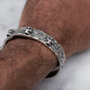 3 DEAD MEN BRACELET | 925 STERLING SILVER - JewelryLab