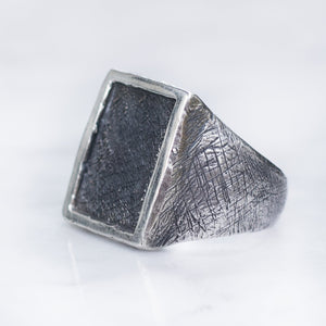 RECTANGLE RING | 925 STERLING SILVER - JewelryLab