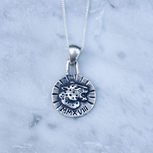 JAGUAR COIN PENDANT | 925 STERLING SILVER - JewelryLab