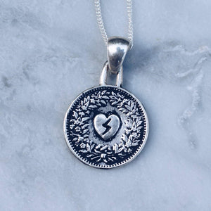 HEART OF GOLD NECKLACE | 925 STERLING SILVER - JewelryLab