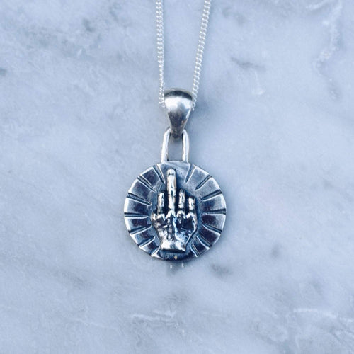 BEST WISHES COIN NECKLACE | 925 STERLING SILVER - JewelryLab