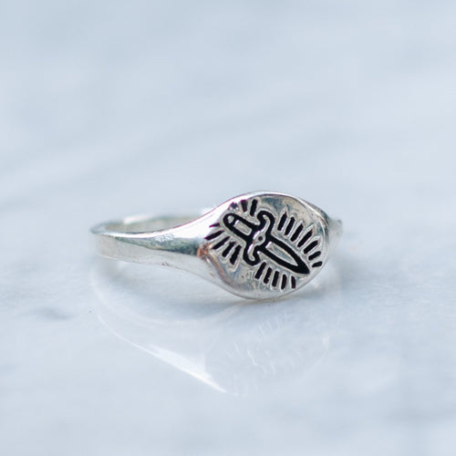 KILLING ME SOFTLY RING (XS) | 925 STERLING SILVER - JewelryLab
