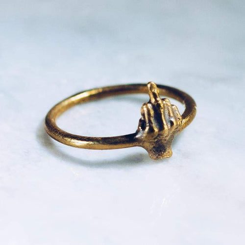 BEST WISHES RING | BRASS - JewelryLab