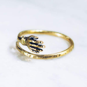 HUG RING | BRASS - JewelryLab