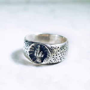 BEST WISHES BAND | 925 STERLING SILVER - JewelryLab