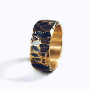 RAW POWER RING | BRASS - JewelryLab