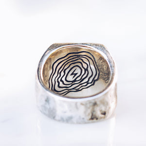 ABSTRACT RING | 925 STERLING SILVER - JewelryLab