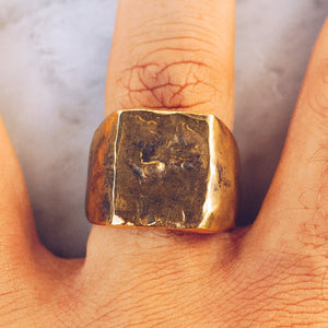 ABSTRACT RING | BRASS - JewelryLab