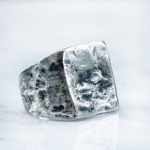 LARGE ABSTRACT RING | 925 STERLING SILVER - JewelryLab