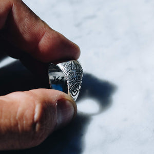 SUN & CROWN RING | 925 STERLING SILVER - JewelryLab