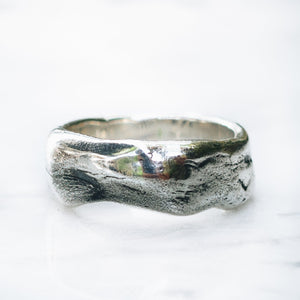 MEDIUM ABSTRACT RING | 925 STERLING SILVER - JewelryLab