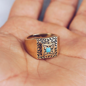RIVER & VINES RING | BRASS - JewelryLab