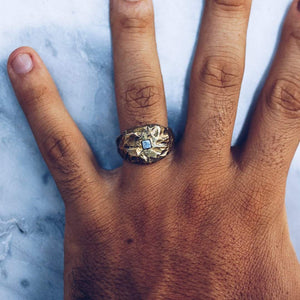 ANCIENT OF DAYS RING | BRASS - JewelryLab