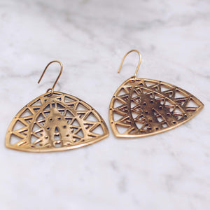 MYSTIQUE EARRINGS | 24K GOLD PLATED - JewelryLab