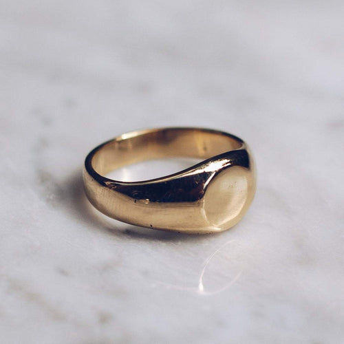SMALL MINIMAL RING | BRASS - JewelryLab