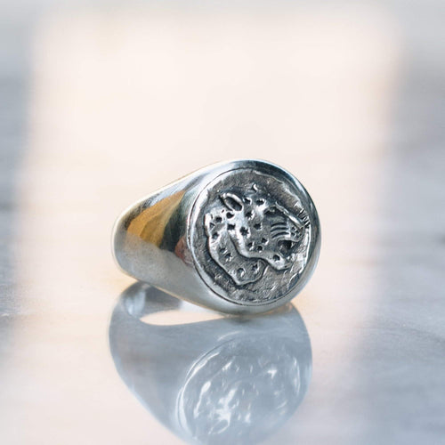 JAGUAR RING | 925 STERLING SILVER - JewelryLab