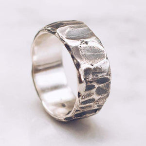 RAW POWER RING | 925 STERLING SILVER - JewelryLab