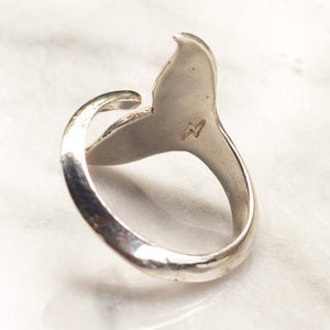 BAJAU WHALE TAIL RING | 925 STERLING SILVER - JewelryLab