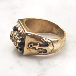 OCEAN ELEMENTS RING | BRASS - JewelryLab