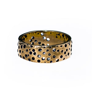 SPACE ROCK RING | BRASS