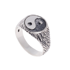 YIN AND YANG RING | 925 STERLING SILVER