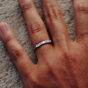 FREE LOVE RING | 925 STERLING SILVER - JewelryLab