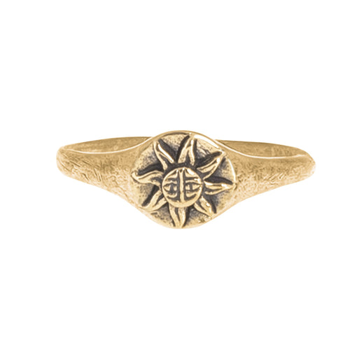SUN RING | BRASS - JewelryLab