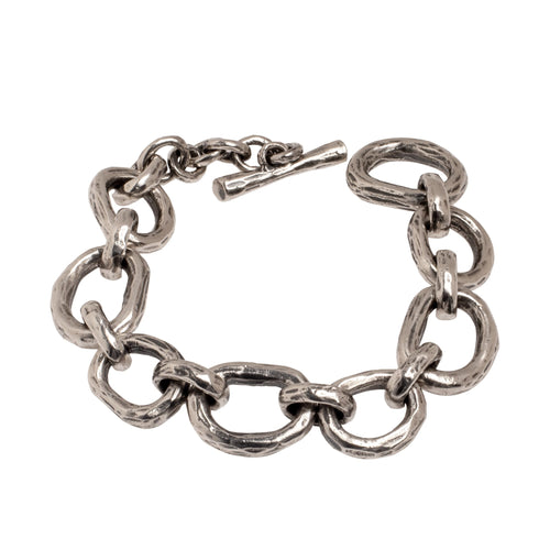 ABSTRACT CHAIN BRACELET | 925 STERLING SILVER