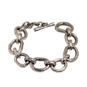 ABSTRACT CHAIN BRACELET | 925 STERLING SILVER - JewelryLab