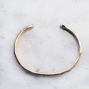 ABSTRACT BRACELET | BRASS - JewelryLab