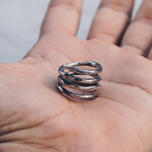 COIN RING | 925 STERLING SILVER - JewelryLab