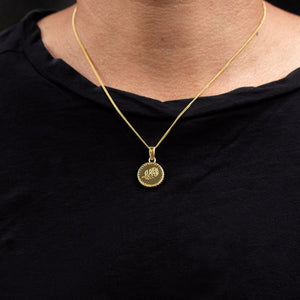 BALI ROSE NECKLACE | 24K GOLD PLATED - JewelryLab