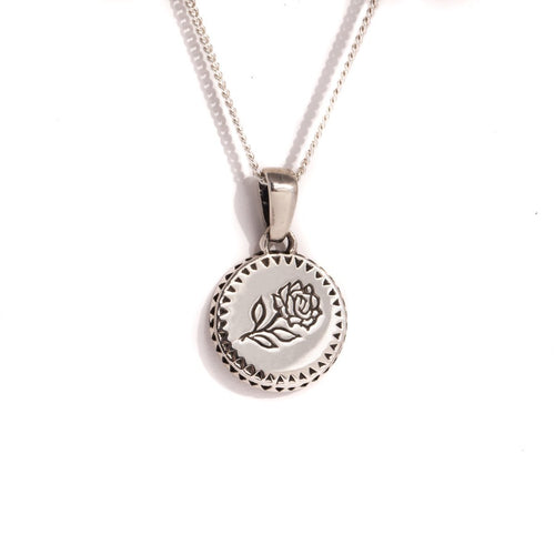 BALI ROSE NECKLACE | 925 STERLING SILVER - JewelryLab