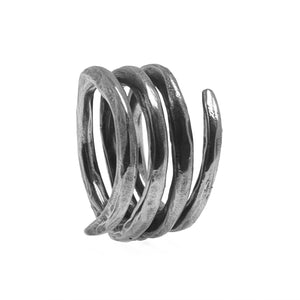 COIL RING | 925 STERLING SILVER - JewelryLab