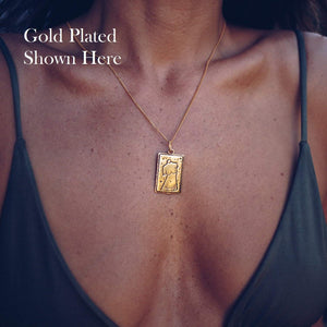VENUS PENDANT  | 24K GOLD PLATED - JewelryLab