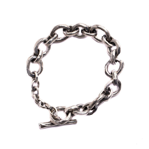 MEDIUM ABSTRACT CHAIN BRACELET | 925 STERLING SILVER - JewelryLab