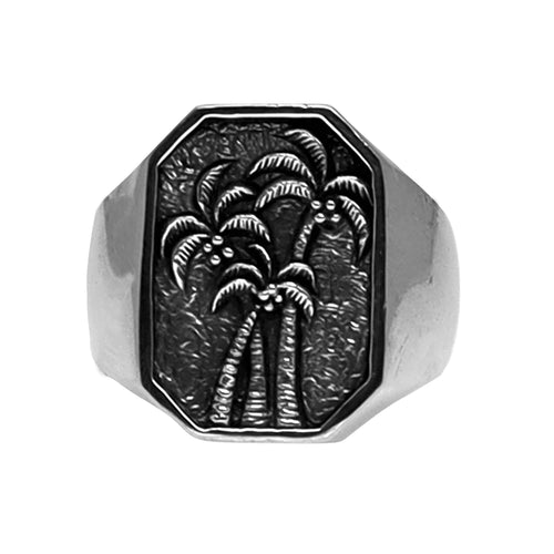 PALM TREE RING | 925 STERLING SILVER - JewelryLab
