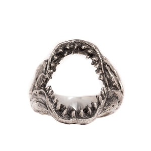 SHARK JAW RING | 925 STERLING SILVER - JewelryLab