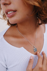 TRUST NO ONE NECKLACE | 925 STERLING SILVER - LIMITED EDITION - JewelryLab