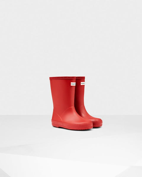 "Hunter Boots Kids First Classic ""Red"""