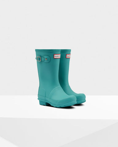 "Hunter Boots Original Kids ""Blue Spruce"""