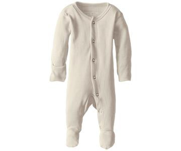 "Loved Baby Footed Sleeper ""Beige"""