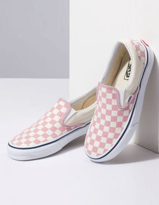 Vans Classic Slip-On Pink Checkerboard