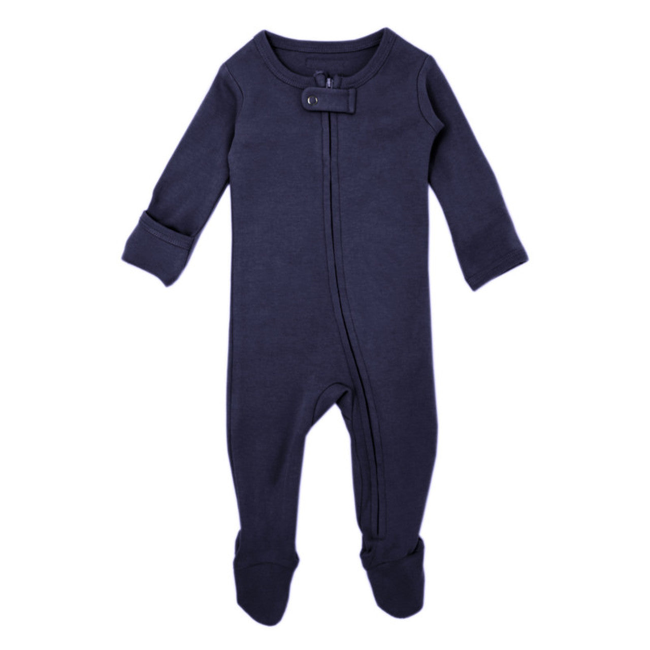 "Loved Baby Footed Sleeper ""Navy"""