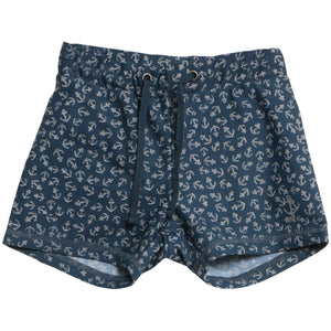 "Wheat Swim Shorts ""Anchors"""