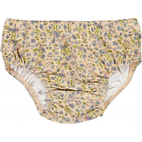 "Wheat Swim Shorts Cilia ""Blue Flowers"""