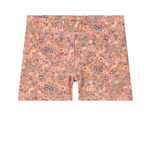 "Wheat Swim Shorts Niki  ""Flowers and Seashells"""